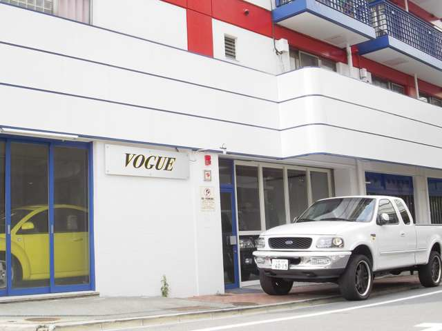 「東京都」の中古車販売店「株式会社VOGUE」