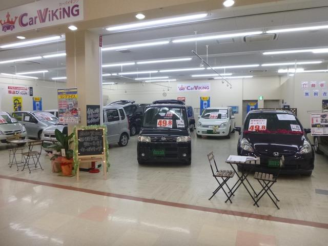 「滋賀県」の中古車販売店「カーバイキングイオンタウン野洲店」