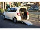 ラクティス/1.3 X ウェルキャブ 車いす仕様車 タイプI 助手席側リヤシート付