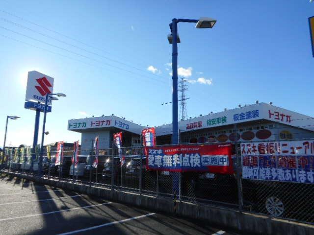「群馬県」の中古車販売店「(株)トヨナガ 小八木店」