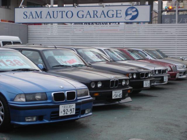 「東京都」の中古車販売店「SAM AUTO GARAGE」