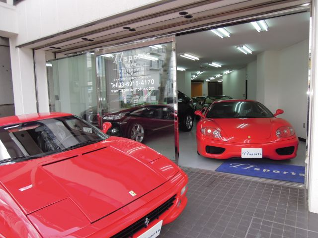「東京都」の中古車販売店「株式会社TI sports(ティーアイスポーツ)」