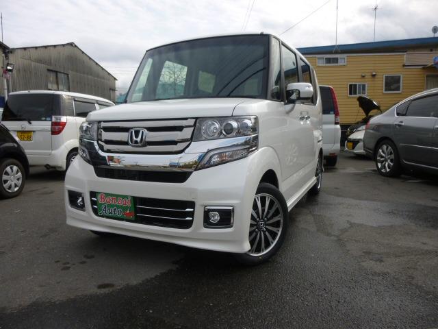「ホンダ」「N-BOXカスタム」「コンパクトカー」「大阪府」の中古車
