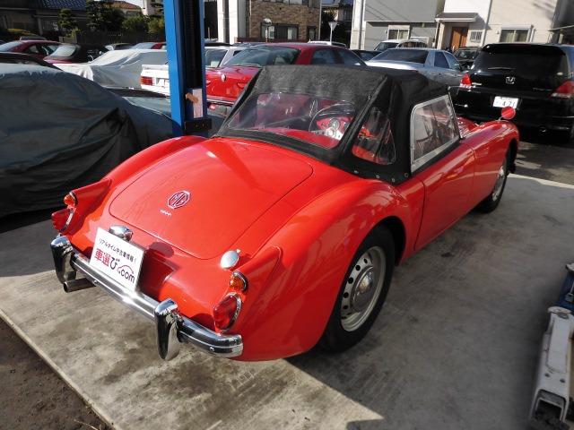 「MG」「MGA」「オープンカー」「愛知県」の中古車