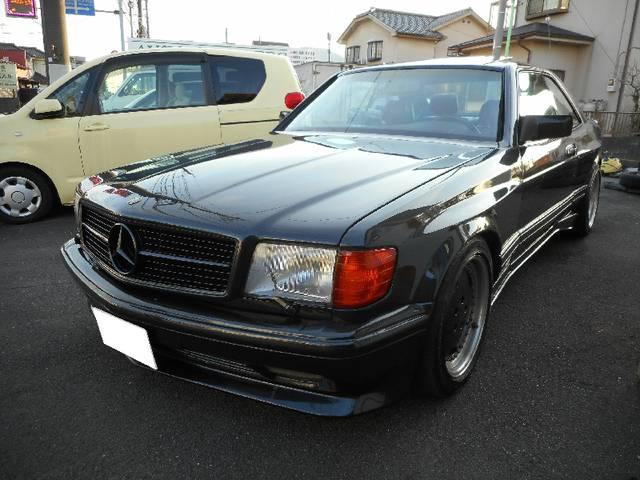 「メルセデスベンツ」「500SEC」「クーペ」「東京都」の中古車