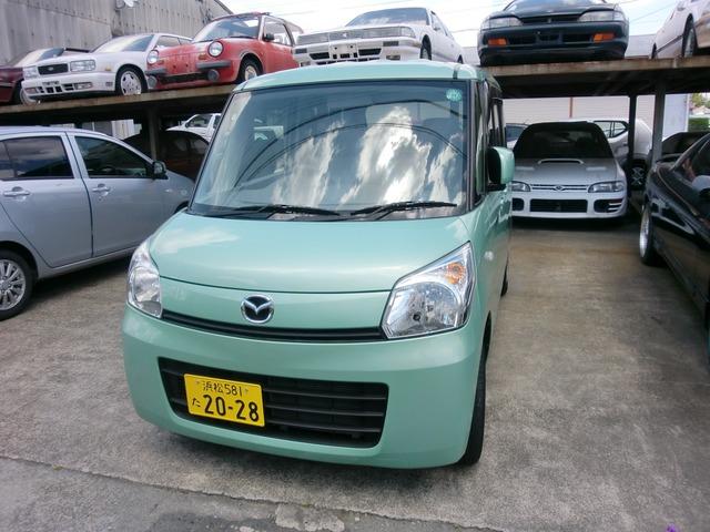 「マツダ」「フレアワゴン」「コンパクトカー」「静岡県」の中古車