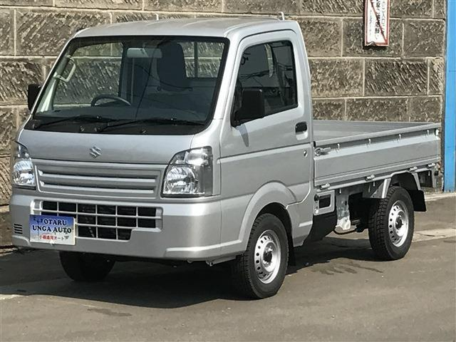 キャリイ(スズキ) KCエアコン・パワステ 3方開 4WD  (シルバー) 中古車画像