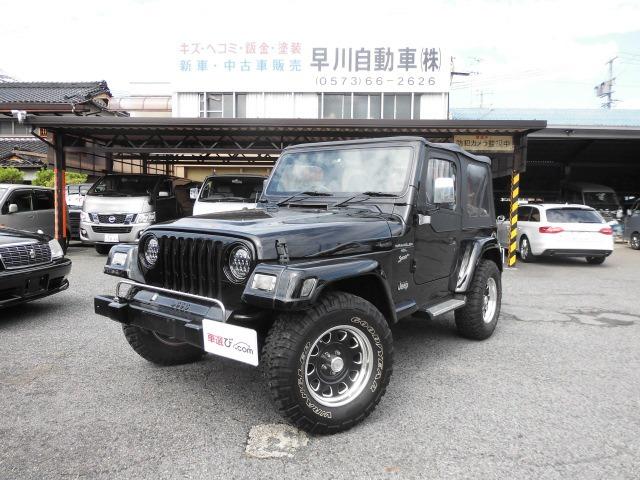 「ジープ」「ラングラー」「SUV・クロカン」「岐阜県」の中古車