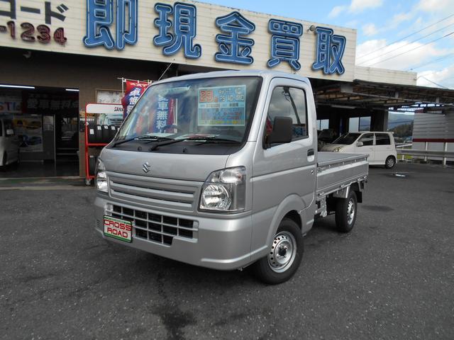キャリイ(スズキ) KC エアコン・パワステ 3方開 4WD 中古車画像