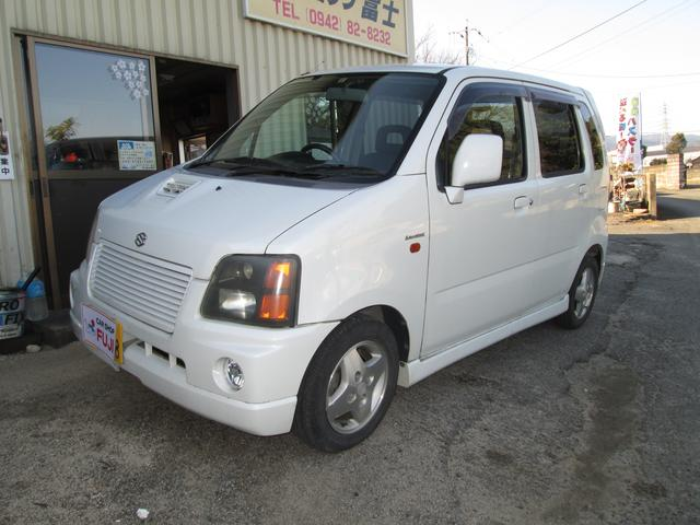 「スズキ」「ワゴンR RR」「軽自動車」「佐賀県」の中古車