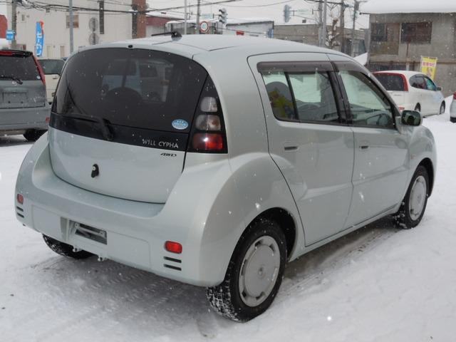 「トヨタ」「WiLL サイファ」「コンパクトカー」「北海道」の中古車5