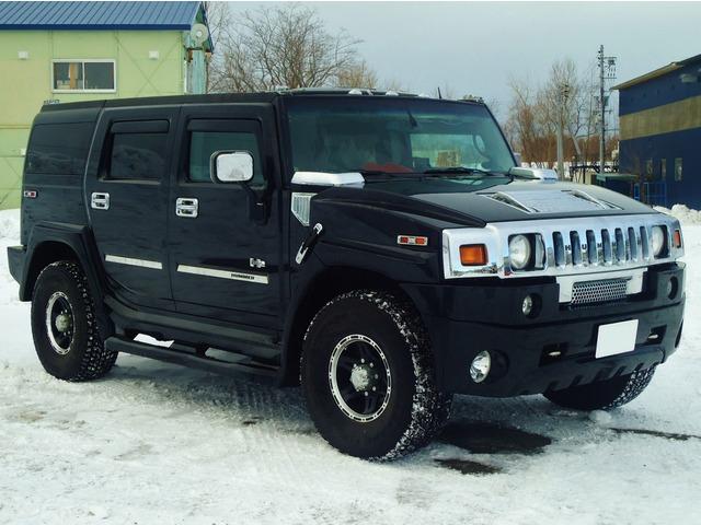 「ハマー」「H2」「SUV・クロカン」「北海道」の中古車