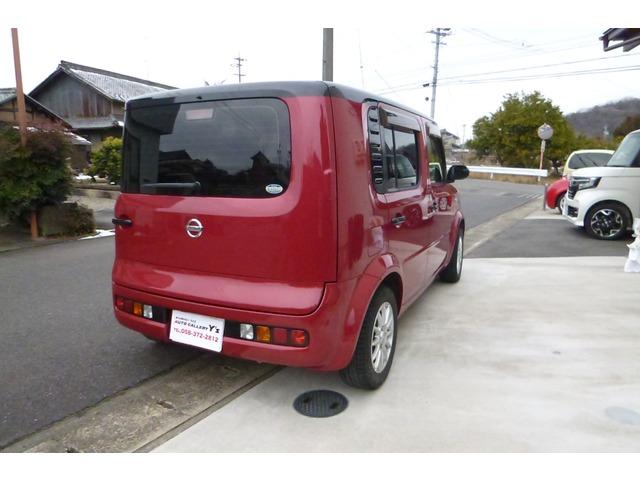 「日産」「キューブ」「コンパクトカー」「岐阜県」の中古車10