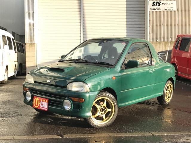 「スバル」「ヴィヴィオ」「オープンカー」「北海道」の中古車