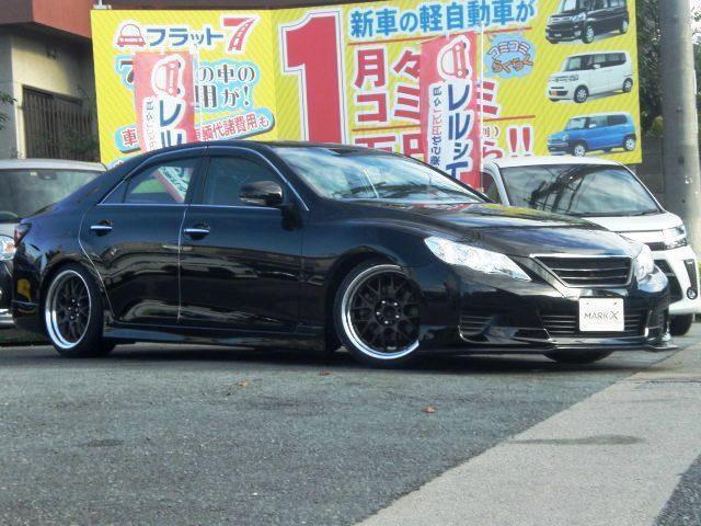 「トヨタ」「マークX」「セダン」「兵庫県」の中古車10