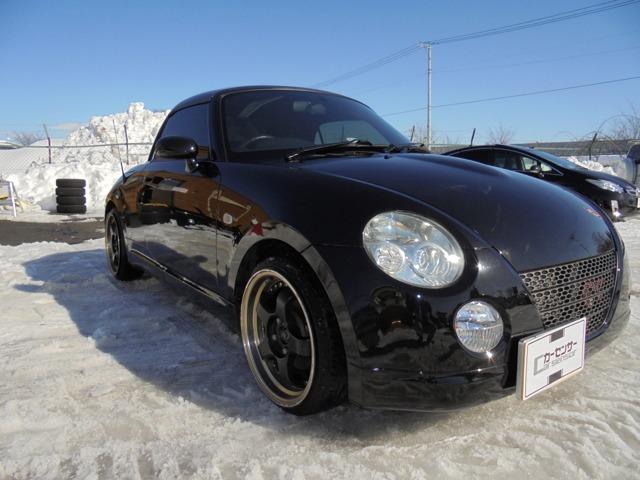 「ダイハツ」「コペン」「オープンカー」「北海道」の中古車
