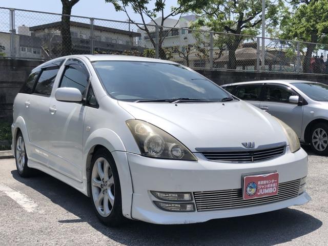 「トヨタ」「ウィッシュ」「ステーションワゴン」「沖縄県」の中古車