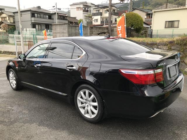 「レクサス」「LS600hL」「セダン」「大阪府」の中古車
