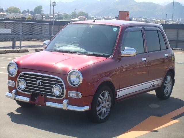 「ダイハツ」「ミラジーノ」「コンパクトカー」「徳島県」の中古車