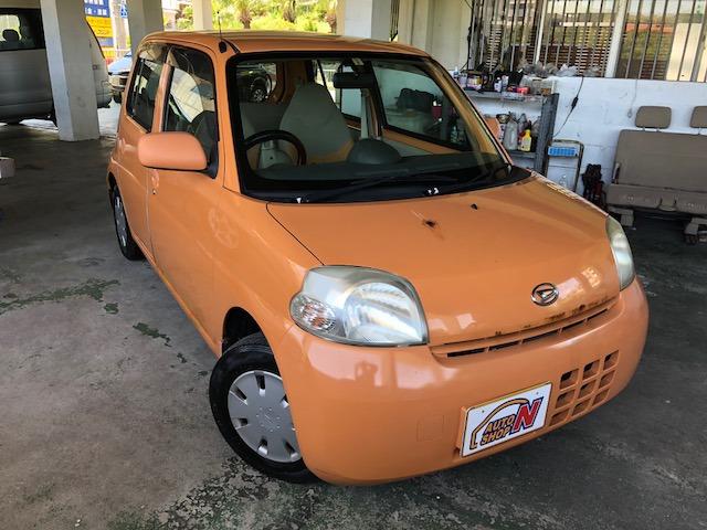 「ダイハツ」「エッセ」「コンパクトカー」「沖縄県」の中古車