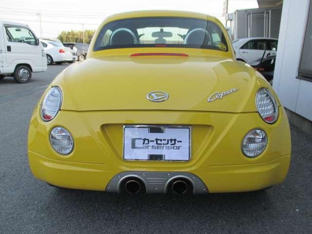 「ダイハツ」「コペン」「オープンカー」「三重県」の中古車