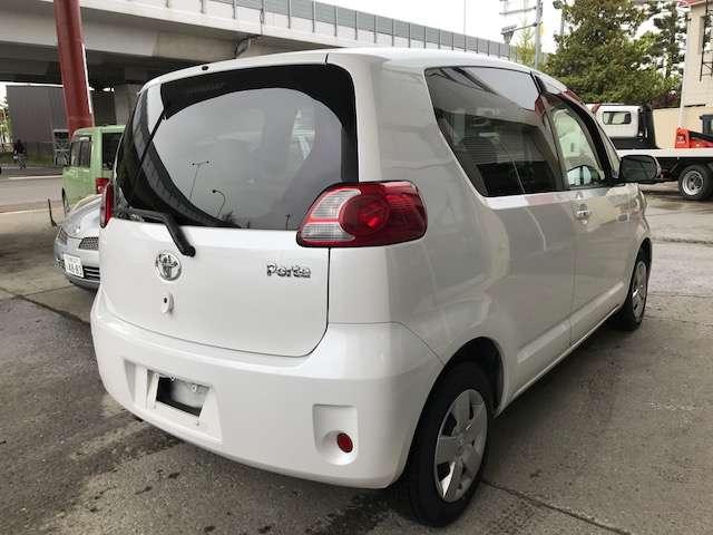 「トヨタ」「ポルテ」「コンパクトカー」「北海道」の中古車4