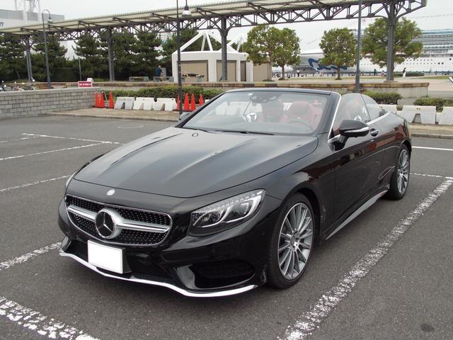 「メルセデスベンツ」「S550カブリオレ」「オープンカー」「神奈川県」の中古車