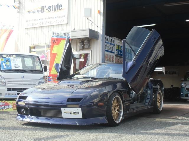 「マツダ」「RX-7カブリオレ」「オープンカー」「佐賀県」の中古車