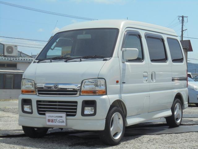 「スズキ」「エブリイワゴン」「ステーションワゴン」「福岡県」の中古車