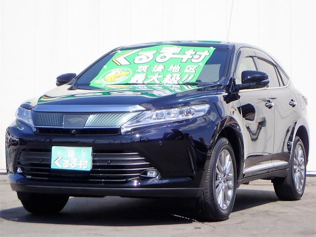 「トヨタ」「ハリアー」「SUV・クロカン」「福岡県」の中古車