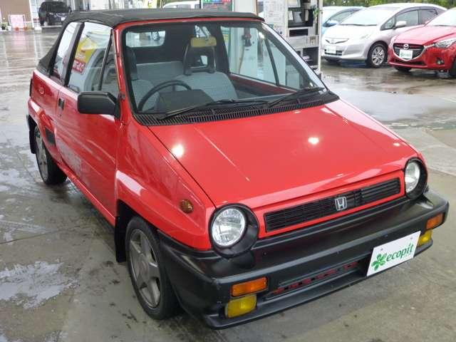 「ホンダ」「シティ カブリオレ」「オープンカー」「岡山県」の中古車3