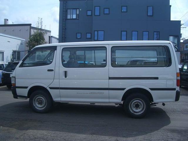 「トヨタ」「ハイエースバン」「ミニバン・ワンボックス」「北海道」の中古車9