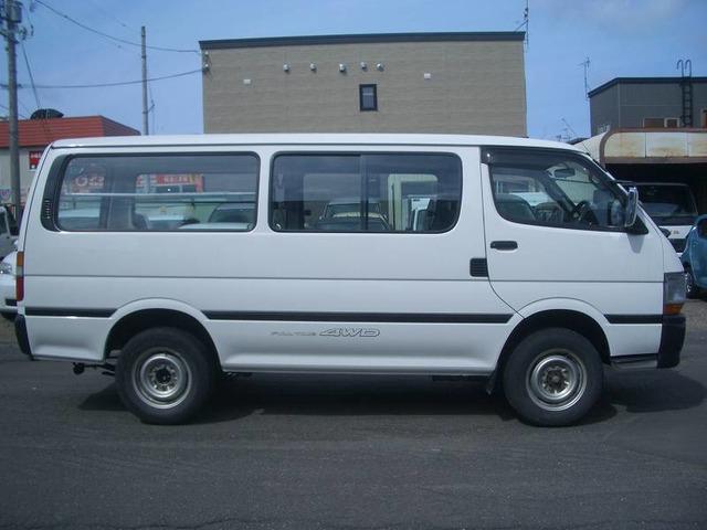 「トヨタ」「ハイエースバン」「ミニバン・ワンボックス」「北海道」の中古車6