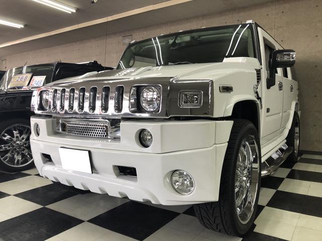 「ハマー」「H2」「SUV・クロカン」「埼玉県」の中古車