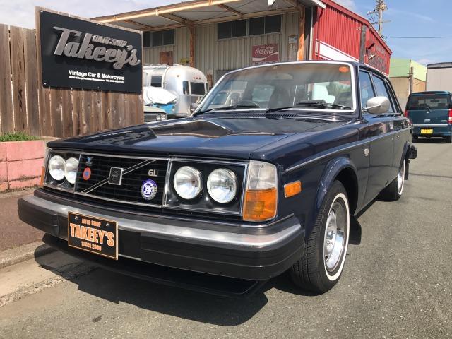 「ボルボ」「244」「セダン」「静岡県」の中古車