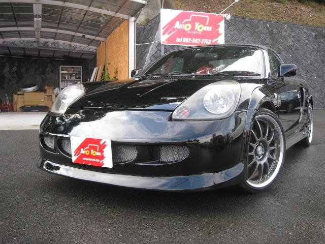 「トヨタ」「MR-S」「オープンカー」「福岡県」の中古車
