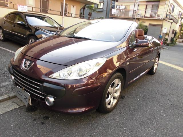 「プジョー」「307CC」「オープンカー」「東京都」の中古車