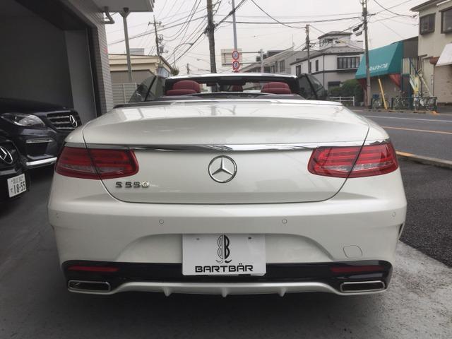 「メルセデスベンツ」「S550カブリオレ」「オープンカー」「東京都」の中古車
