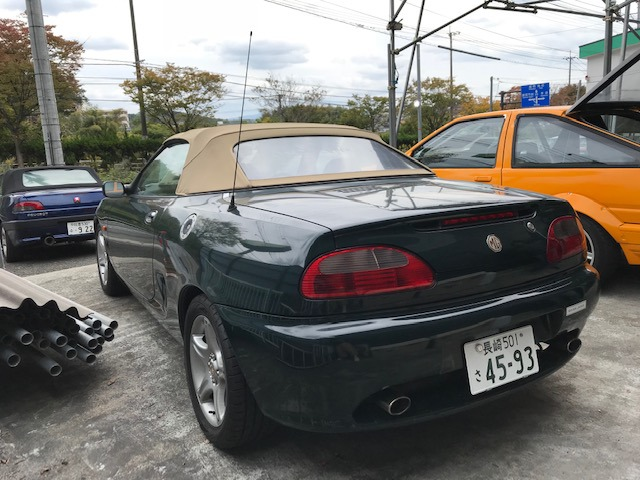「MG」「MGF」「オープンカー」「福岡県」の中古車