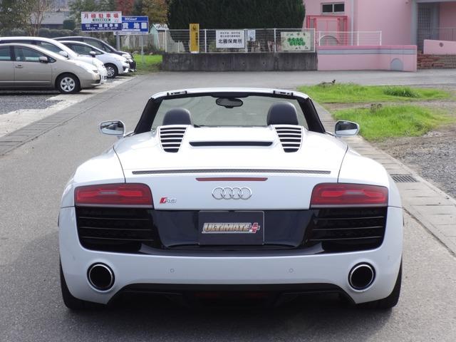 「アウディ」「R8スパイダー」「オープンカー」「茨城県」の中古車