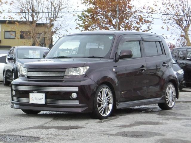 「トヨタ」「bB」「コンパクトカー」「北海道」の中古車