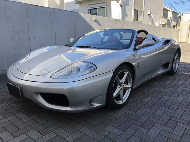 「フェラーリ」「360スパイダー」「オープンカー」「神奈川県」の中古車