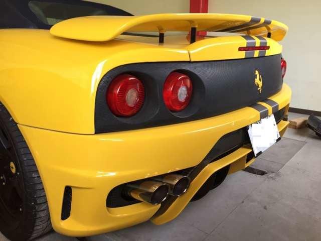 「フェラーリ」「360スパイダー」「オープンカー」「兵庫県」の中古車