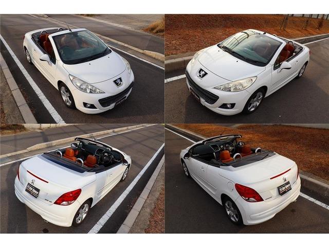 「プジョー」「207CC」「オープンカー」「愛知県」の中古車