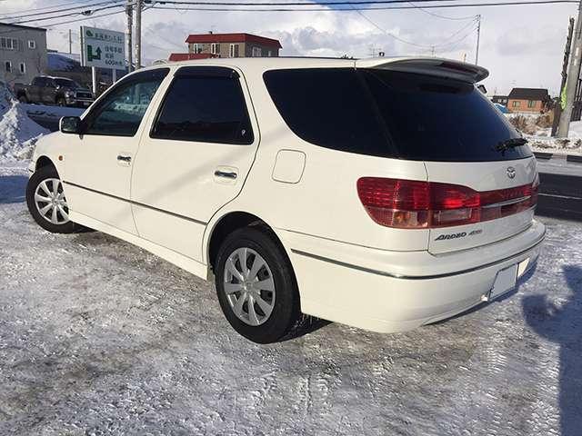 「トヨタ」「ビスタアルデオ」「ステーションワゴン」「北海道」の中古車