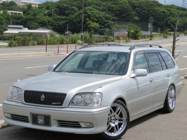 「トヨタ」「クラウンエステート」「ステーションワゴン」「福岡県」の中古車