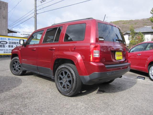「ジープ」「パトリオット」「SUV・クロカン」「岡山県」の中古車