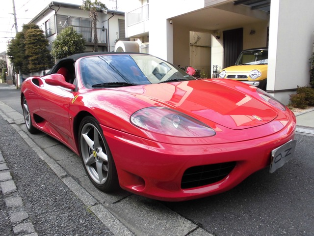 「フェラーリ」「360スパイダー」「オープンカー」「東京都」の中古車
