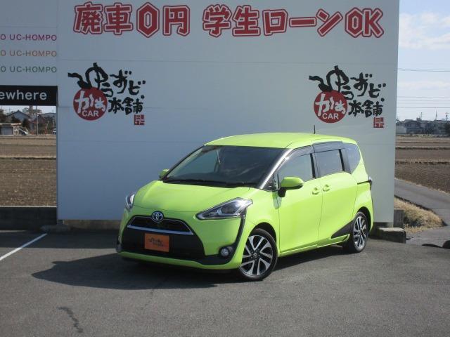 「トヨタ」「シエンタ」「ミニバン・ワンボックス」「愛知県」の中古車