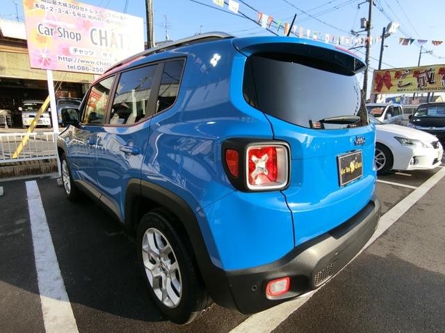 「ジープ」「レネゲード」「SUV・クロカン」「岡山県」の中古車6